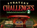 Strategy Challenges Collection 2  Windows Main Menu Screen