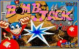 Bomb Jack Amiga Title screen
