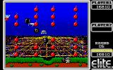 Bomb Jack Amiga Easy level because there are no ledges