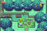 The Legend of Zelda: The Minish Cap Game Boy Advance With the Minish Cap, Link can shrink himself to be able to visit the Minish or find secret areas.