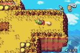 The Legend of Zelda: The Minish Cap Game Boy Advance Mt. Crenel - Mushrooms can be used to catapult Link over chasms.