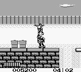 Skate or Die: Bad 'N Rad Game Boy Stage 1 - defeating a punk