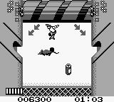 Skate or Die: Bad 'N Rad Game Boy Chased by a giant roller