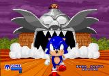 SegaSonic The Hedgehog Arcade The Intro. Sonic was caught by Dr. Robotnik.