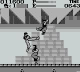 Kung' Fu Master Game Boy Kicking
