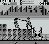Kung' Fu Master Game Boy Getting hit with a nunchakku