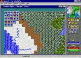 Empire II: The Art of War Windows Scenario editor