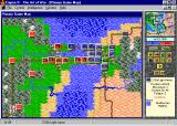 Empire II: The Art of War Windows A game in progress