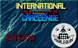 International Sports Challenge DOS Title screen