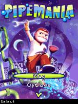 Pipe Mania J2ME Main menu