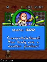 Pipe Mania J2ME Level completed