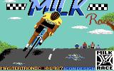 Milk Race Commodore 64 Title screen