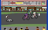 Milk Race Commodore 64 Drat, I crashed!