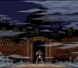 Super Castlevania IV SNES The game begins.