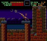 Super Castlevania IV SNES Swinging