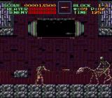 Super Castlevania IV SNES The first boss