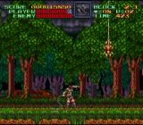 Super Castlevania IV SNES In a forest