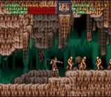 Super Castlevania IV SNES In a cave - if you hit them, golems split up into several smaller golems.