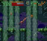Super Castlevania IV SNES Nice waterfalls