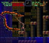Super Castlevania IV SNES Boss-fight
