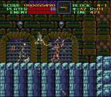 Super Castlevania IV SNES Skeletons attacking
