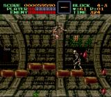 Super Castlevania IV SNES One of several levels that make use of the SNES' 3D-Chip.