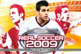 Real Soccer 2009 iPhone Title screen