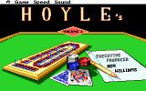 Hoyle Official Book of Games: Volume 1 DOS Title Screen
