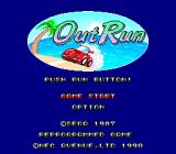 OutRun TurboGrafx-16 Title