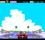 OutRun TurboGrafx-16 Approaching a crowd