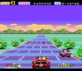 OutRun TurboGrafx-16 Stage 5