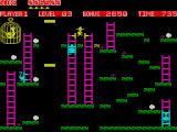 Chuckie Egg ZX Spectrum Avoid the hens from touching you