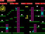 Chuckie Egg ZX Spectrum Use elevators to reach higher platforms