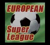 European Super League Game Boy Color Title Screen