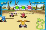 Digimon Racing Game Boy Advance At the Desert Oasis