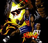 Shaq Fu Game Gear Title screen