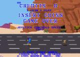 Road Runner Arcade Title screen