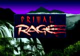 Primal Rage Genesis Title screen
