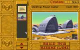 Dune II: The Building of a Dynasty DOS A construction menu