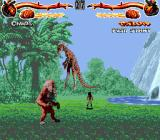 Primal Rage Genesis Peaceful scenery, not-so-peaceful actions...