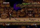 Pitfall: The Mayan Adventure Genesis Monsters on the floor