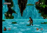 Pitfall: The Mayan Adventure Genesis Jumping on rocks and crocodiles