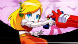 Curly Brace from <i>Cave Story+</i> in the animated opening cinematic.