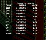 Midnight Resistance Genesis High scores
