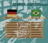FIFA 2000 Game Boy Color Comparing the teams