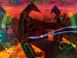Millennium Racer: Y2K Fighters Windows Electric effects on the track.