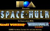 Space Hulk DOS Title