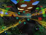 Millennium Racer: Y2K Fighters Windows Jump through speed ring for instant boost in speed.