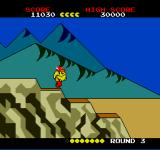 Pac-Land TurboGrafx-16 Coming down the mountain