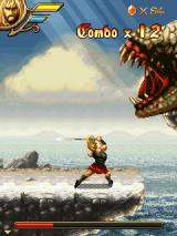 Beowulf: The Mobile Game J2ME Battle the serpent